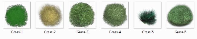 مبلمان گیاهی فتوشاپ (Grass)